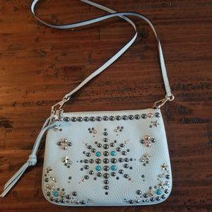 Rebecca Minkoff light blue purse